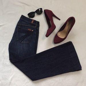 7FAMK Dojo Jeans Sz 26